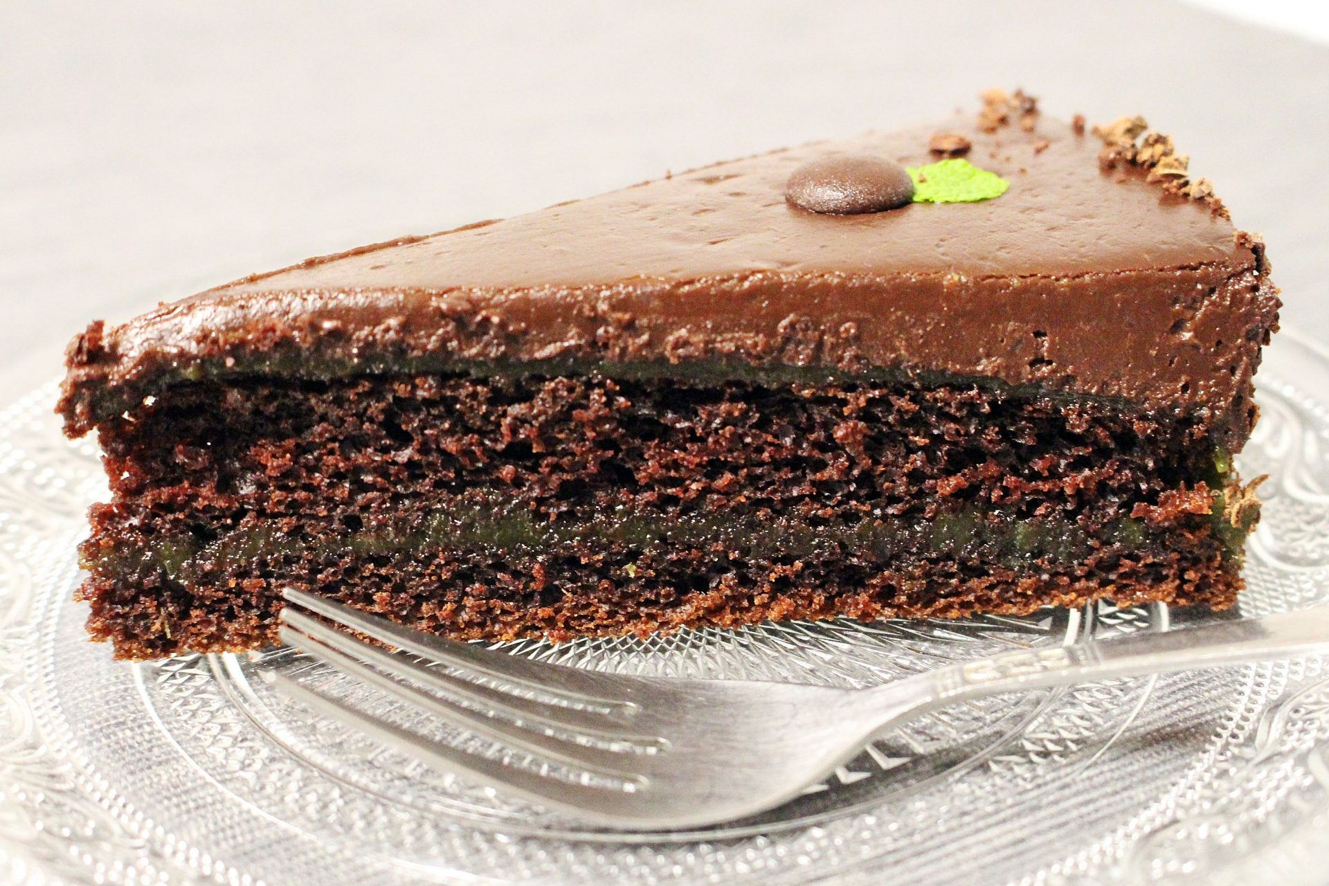 """After Eight"" torta (mentás csokoládétorta)"